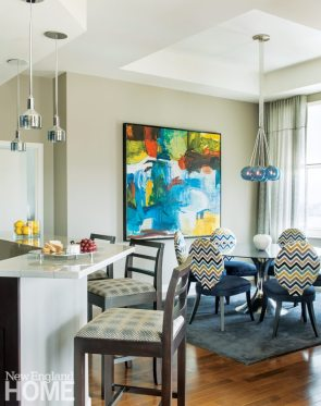 Kelly Taylor Providence Condo Kitchen and Dining Area