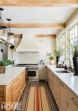 Neutral and Sophisticated home in Concord, Massachusetts Kitchen