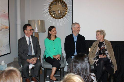 Wakefield Design Center to The Trade Day Panel members Glenn Gissler, Mara Miller, Jesse Carrier, and Laura Bohn