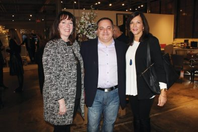Lillian August Luxury Living Talk Connie Giuliani, Joe Marotta, and Tara Vincenta