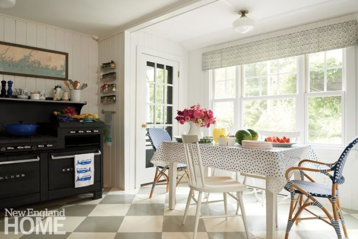 Coastal Maine Breakfast Nook