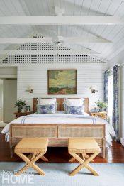 Coastal Maine Master Bedroom