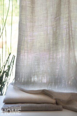 Rosemary Hallgarten LaharAlpaca Linen Sheer Fabric