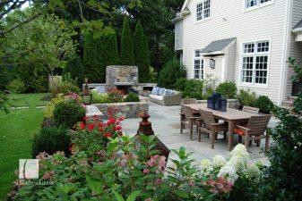 a Blade of Grass Dover Backyard Patio Dining Area