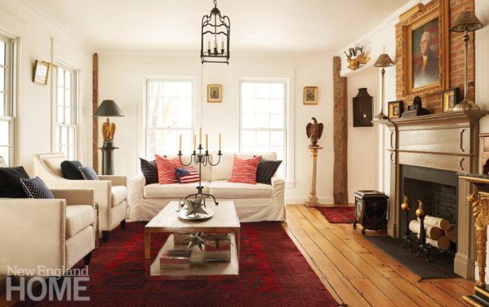 Colonial-Era Home Americana Room