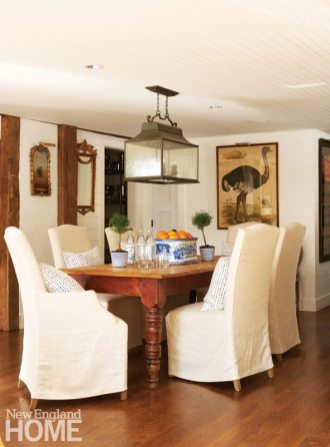 Colonial-Era Home Dining Room