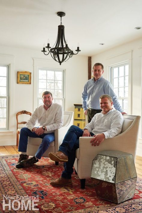 Colonial-Era Home Owners and Architect Steven Kalur