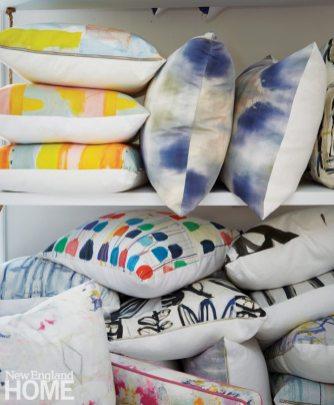 Sconset Square Kerri Rosenthal Concept Gallery Pillows
