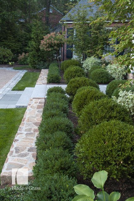 a Blade of Grass Formal Wellesley Colonial Formal Front Garden