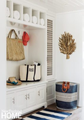 Cape Cod Cottage Mudroom