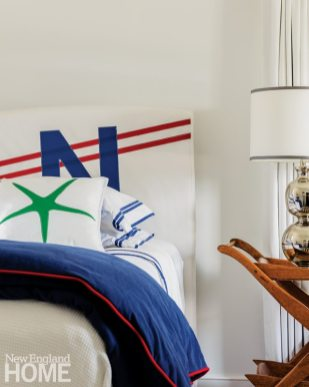 Cape Cod Cottage Nautical Bedroom