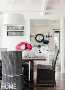 Cape Cod Cottage Dining Area