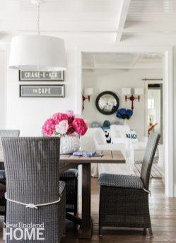 Cape Cod Cottage Dining Area