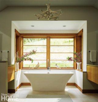 Stowe Vermont Master Bathroom