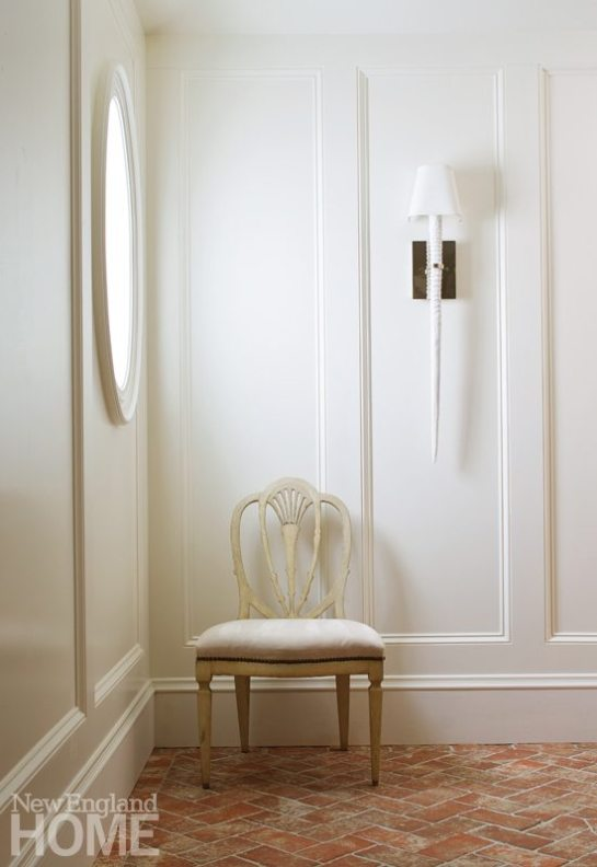 Gauthier Stacy Hingham White Hallway