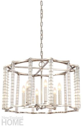 Crystal chandeliers are going strong again, and they come in an increasing variety of configurations both traditional and innovative.