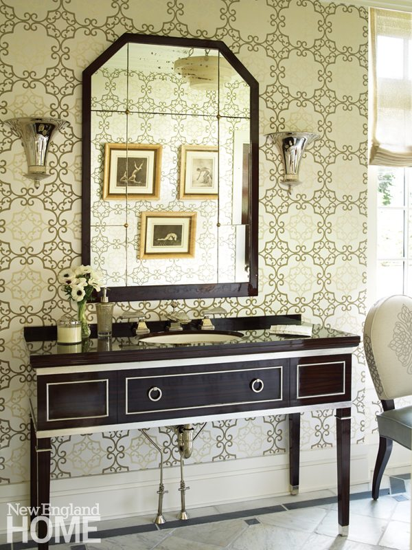 Brookline Georgian Ebony Vanity