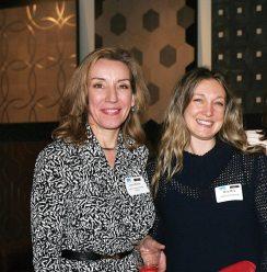 Lana Nathe of Light Insight Design Studio and Meg Moy of Meyer & Meyer