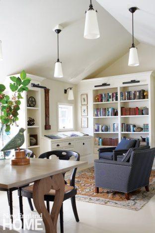 Chappaquiddick Shingle Cottage Library