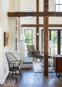 Restored Amos Otis House Barn Room