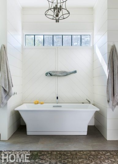 Restored Amos Otis House Bathroom