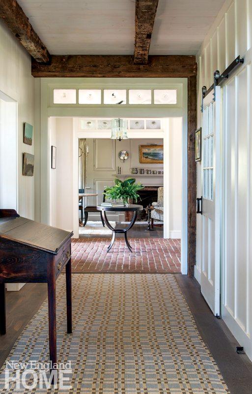 Restored Amos Otis House Hallway