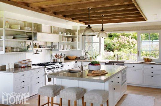 Hutker Architects Martha's Vineyard Kitchen