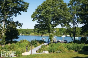 Rhode Island Shingle Style Deck