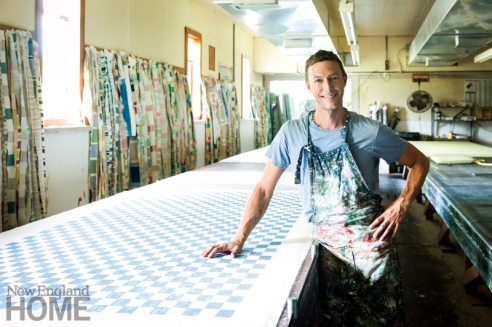 Patrick McBride of Tillet Textiles