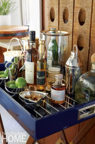 Darien Stone Cottage Bar Tray
