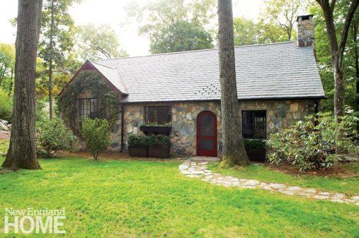 Darien Stone Cottage Exterior