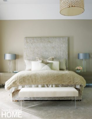 Brooks & Falotico New Canaan transitional bedroom