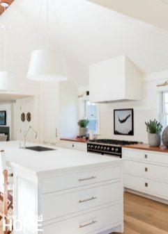 Lisa Tharp White Kitchen