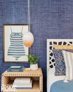 Lisa Tharp Blue Guest Bedroom