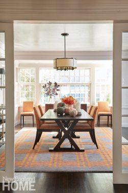 Brookline historic home dining room