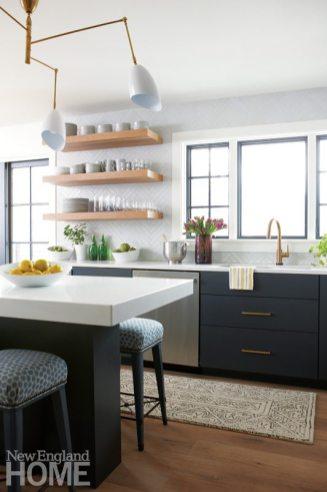 Contemporary Vermont kitchen