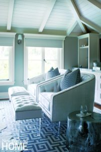 Seating area master bedroom