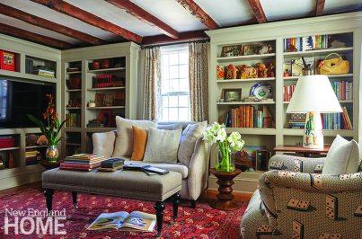 Antique home living room
