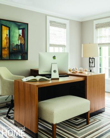 Contemporary office designed by Paula Daher
