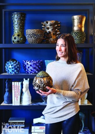 At Putnam & Mason, designer Kim Alessi partners her aesthetic and sourcing talents with those of co-owner Robert Passal to offer elegant furniture, original art, and vintage finds.