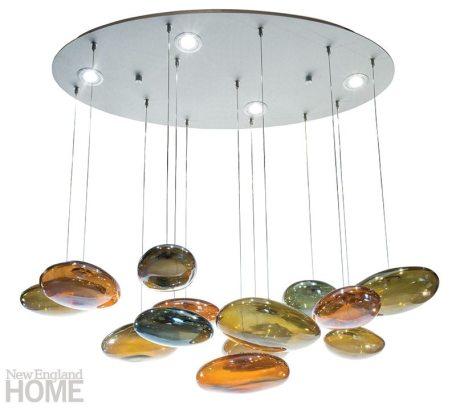 Koi Pond chandelier