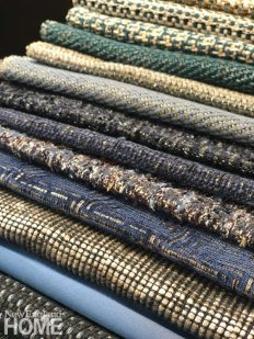 A selection of limited-edition weaves from J.D. Staron's new fabric collection, set to debut this spring.