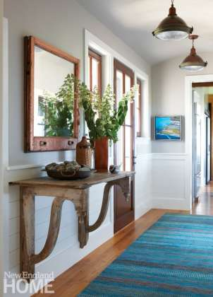 Colorful entryway on Martha's Vineyard
