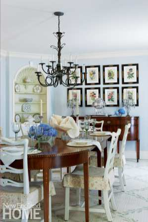 Traditional dining room Royal Barry Wills Colonial