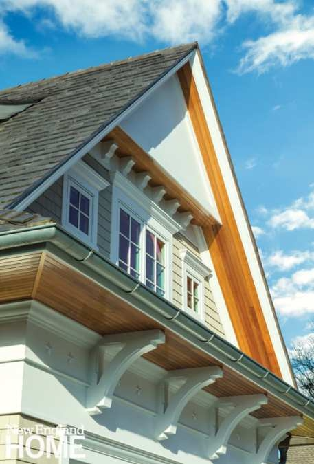 Shingle style soffit