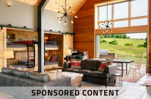 Cabin with bunk beds Spons_Content