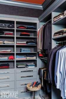 Custom closet with storage Boston