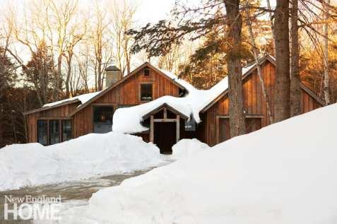 Saltbox, Vermont, ski