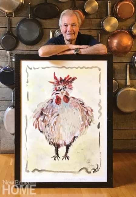 A portrait of chef Jacques Pepin