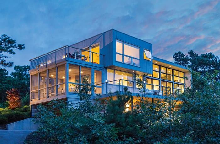 A Modernist Cape Cod Stunner